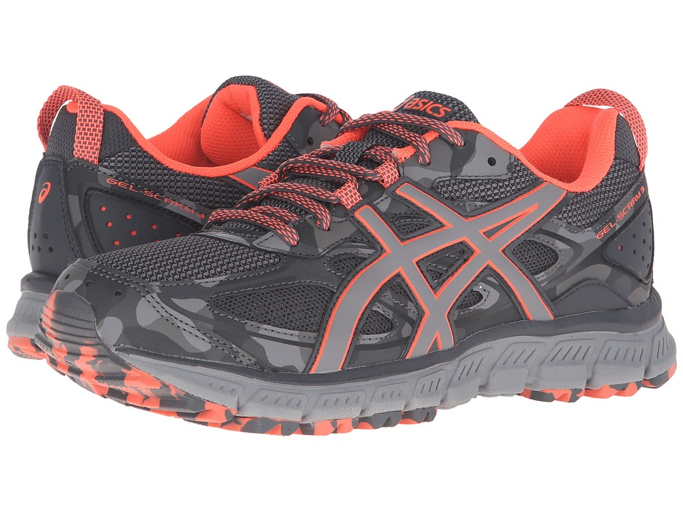 ASICS - Gel-Scram(r) 3 (Steel Grey/Flash Coral/Aluminum) Women's Running Shoes