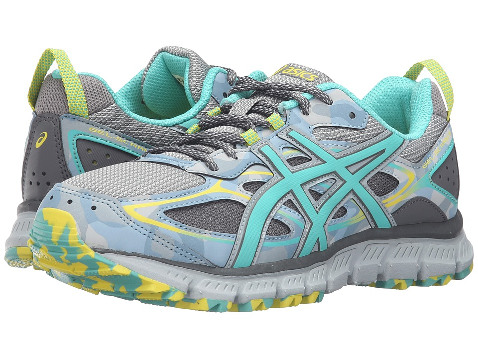ASICS - Gel-Scram 3 (Midgrey/Turquoise/Aluminum) Women's Running Shoes