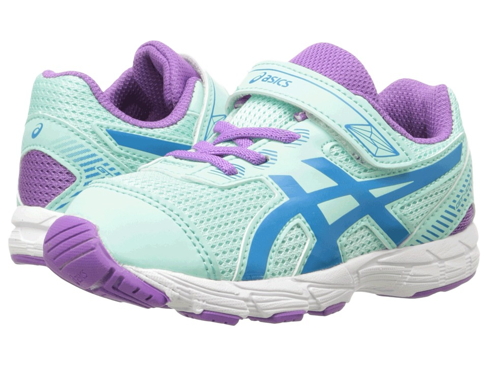 ASICS Kids - GT-1000 5 TS (Toddler) (Mint/Blue Jewel/Orchid) Girls Shoes