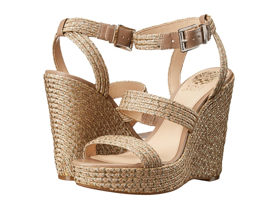 Vince Camuto - Melisha (Taupe Gold Metallic) Women