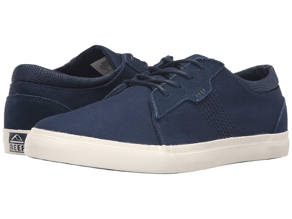 Reef - Ridge (Blue/White) Men's Lace up casual Shoes
