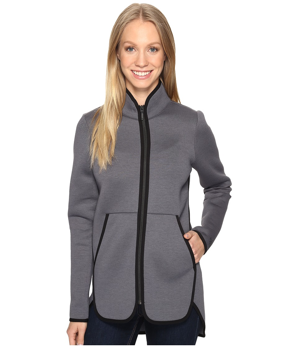 The North Face - Neo Thermal Full Zip (TNF Dark Grey Heather (Prior Season)) Women's Coat