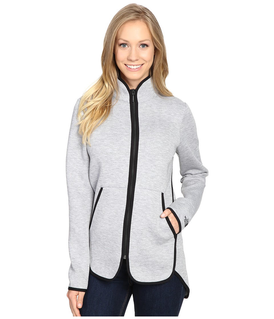 The North Face - Neo Thermal Full Zip (TNF Light Grey Heather) Women's Coat