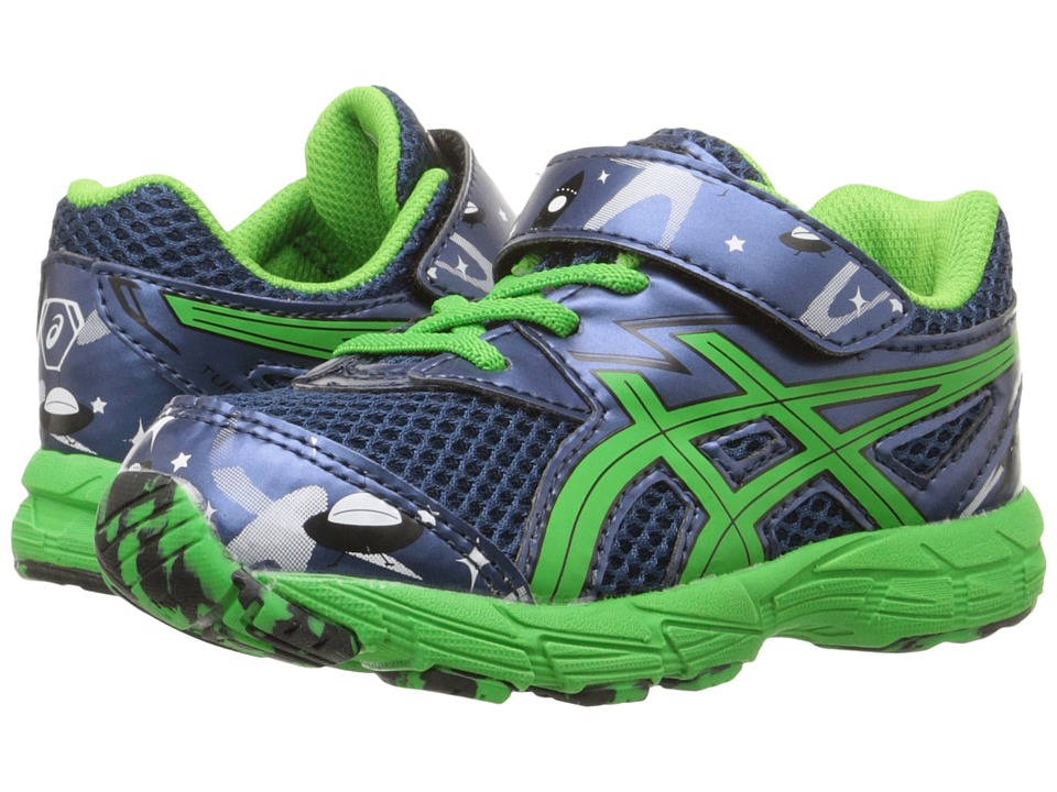 ASICS Kids - Turbo 2 TS (Toddler) (Poseidon/Shamrock/Black) Boys Shoes