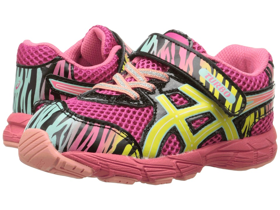 ASICS Kids - Turbo 2 TS (Toddler) (Sport Pink/Sun/Black) Girls Shoes