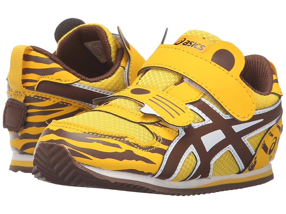 ASICS Kids - Animal Pack (Toddler) (Marigold/Black/Brown) Boys Shoes