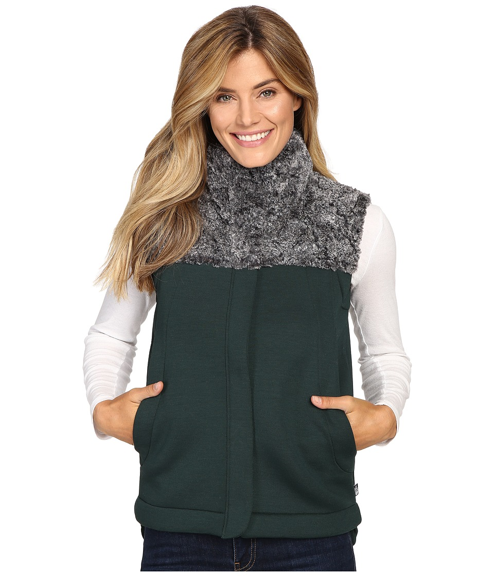 The North Face - Hybrination Neo Thermal Vest (Scarab Green/Black Heather) Women's Vest