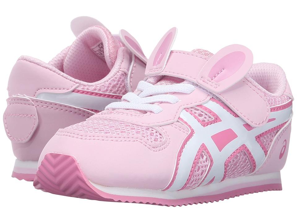 ASICS Kids - Animal Pack (Toddler) (Light Pink/White/Pink) Girls Shoes