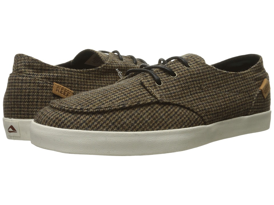Reef - Deck Hand 2 TX (Brown/Tweed) Men's Lace up casual Shoes