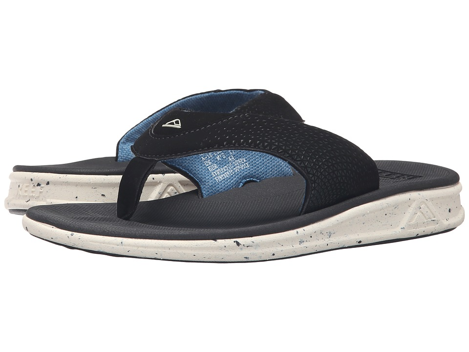 Reef - Rover Prints (Black) Men's Sandals