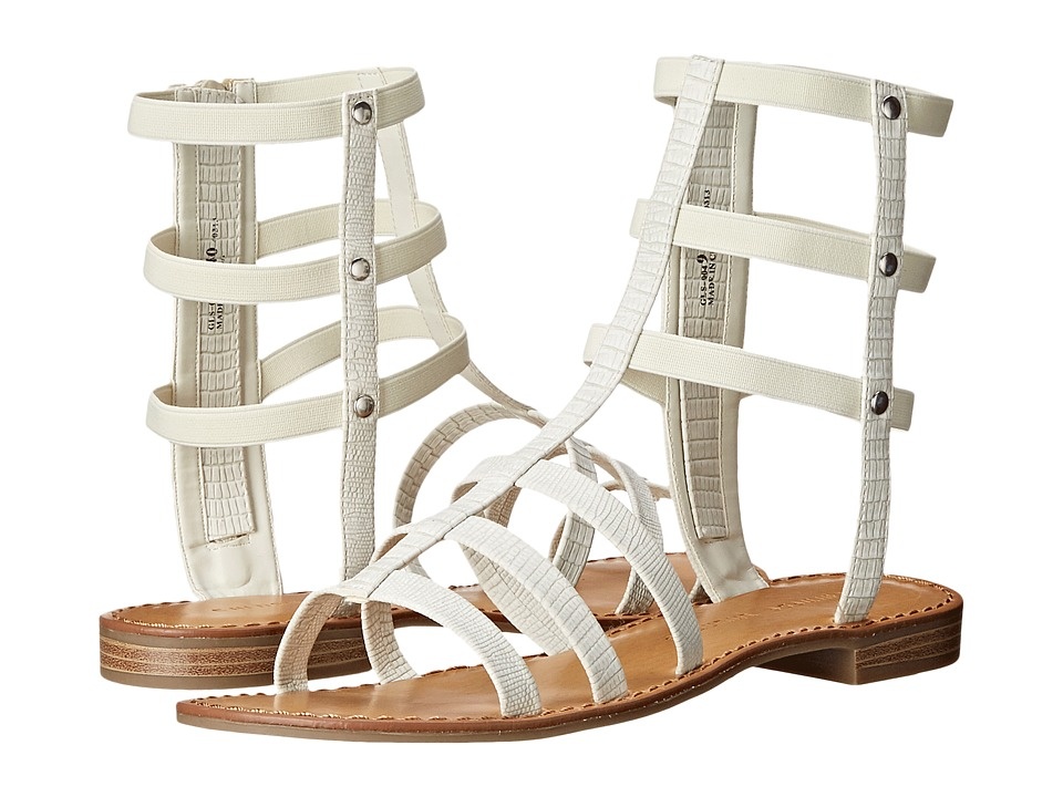 Chinese Laundry - Gemma (White Lizard) Women's Sandals