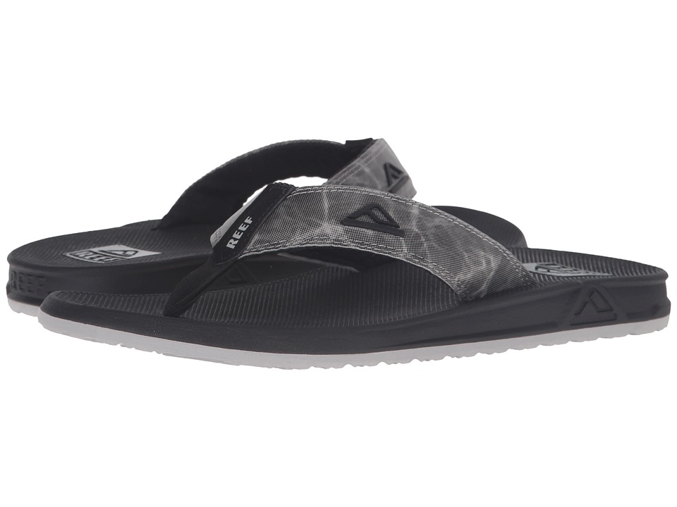 Reef - Phantom Prints (Black/Grey/Digi) Men's Sandals