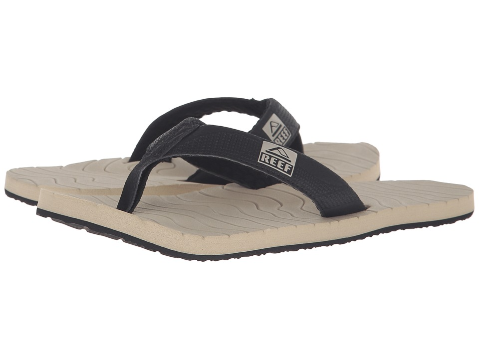 Reef - Roundhouse (Black/Tan) Men's Sandals