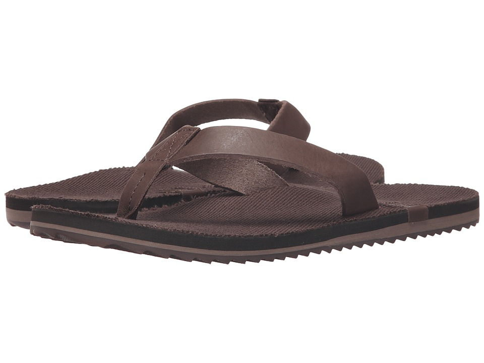 Reef - McClurg (Dark Brown) Men's Sandals