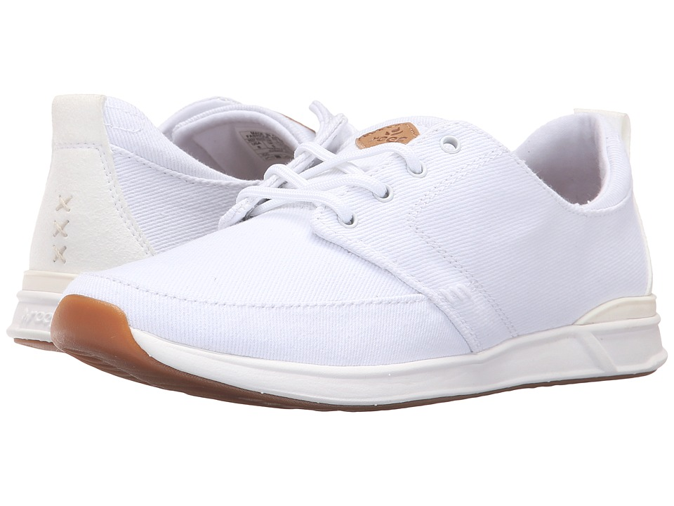Reef - Rover Low (White) Women's Lace up casual Shoes