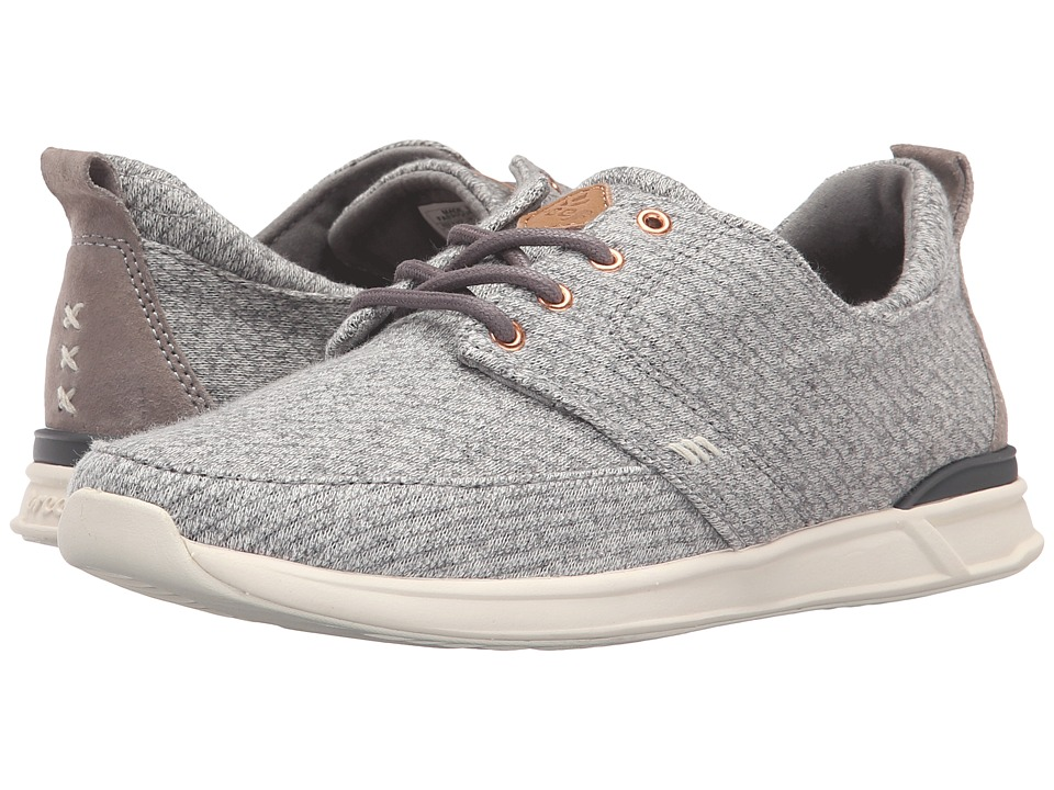 Reef - Rover Low TX (Grey Heather) Women's Lace up casual Shoes