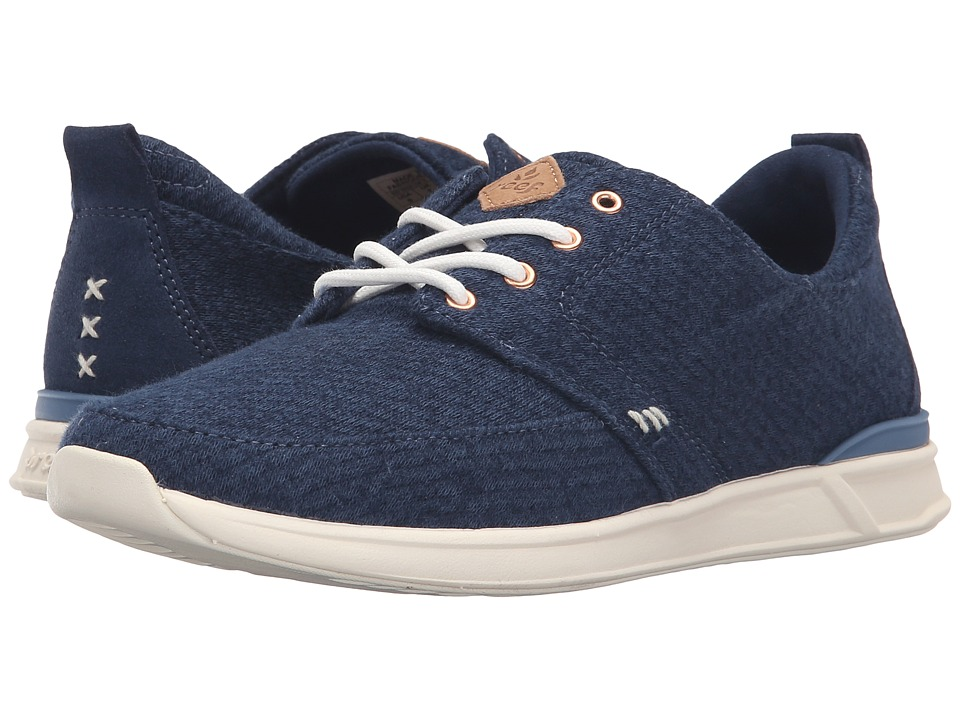 Reef - Rover Low TX (Navy/White) Women's Lace up casual Shoes