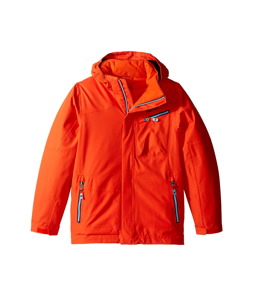 Marmot Kids - Boy's Freerider Jacket (Little Kids/Big Kids) (Mars Orange) Boy's Coat