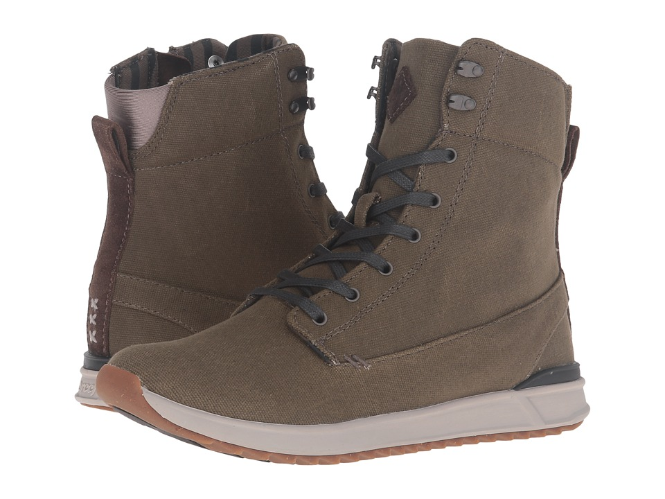 Reef Swellular Boot Hi (Military/Green) Women