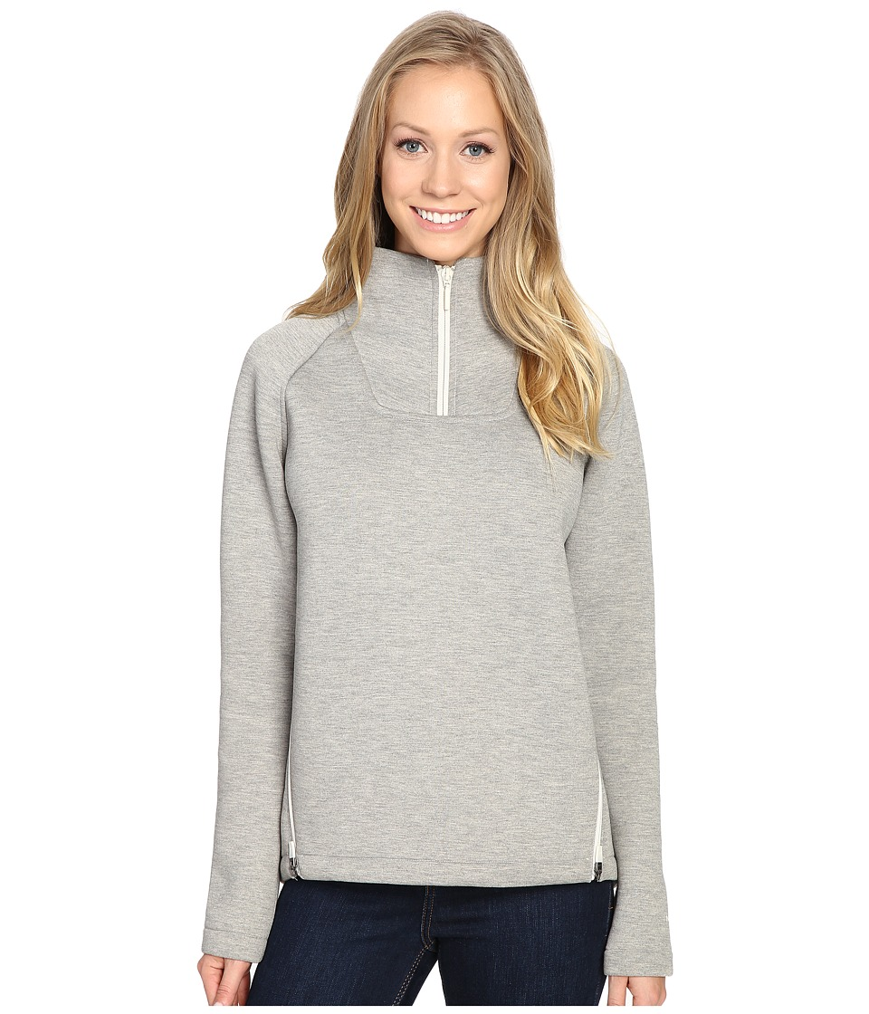The North Face - Neo Thermal Pullover (TNF Oatmeal Heather) Women's Long Sleeve Pullover