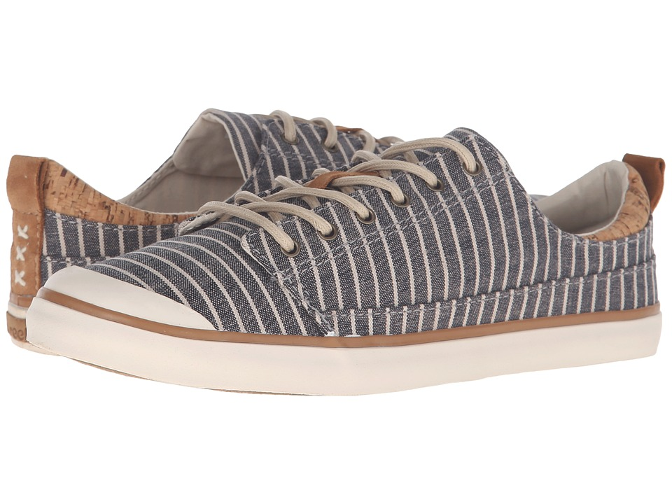 Reef - Walled Low TX (Grey/Stripe) Women's Lace up casual Shoes