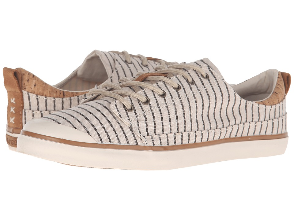 Reef - Walled Low TX (Cream Stripes) Women's Lace up casual Shoes