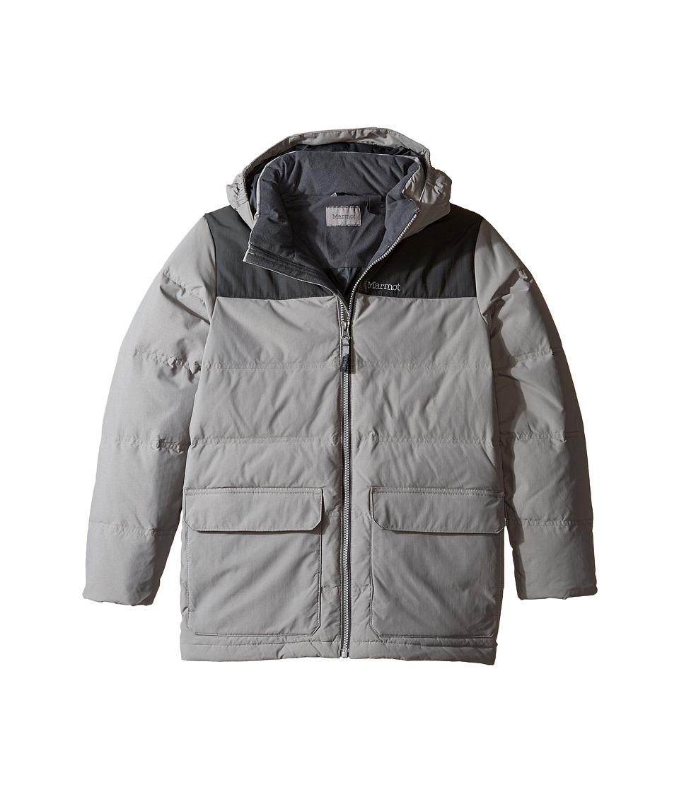 Marmot Kids - Rail Jacket (Little Kids/Big Kids) (Phantom Grey/Slate Grey) Boy's Coat