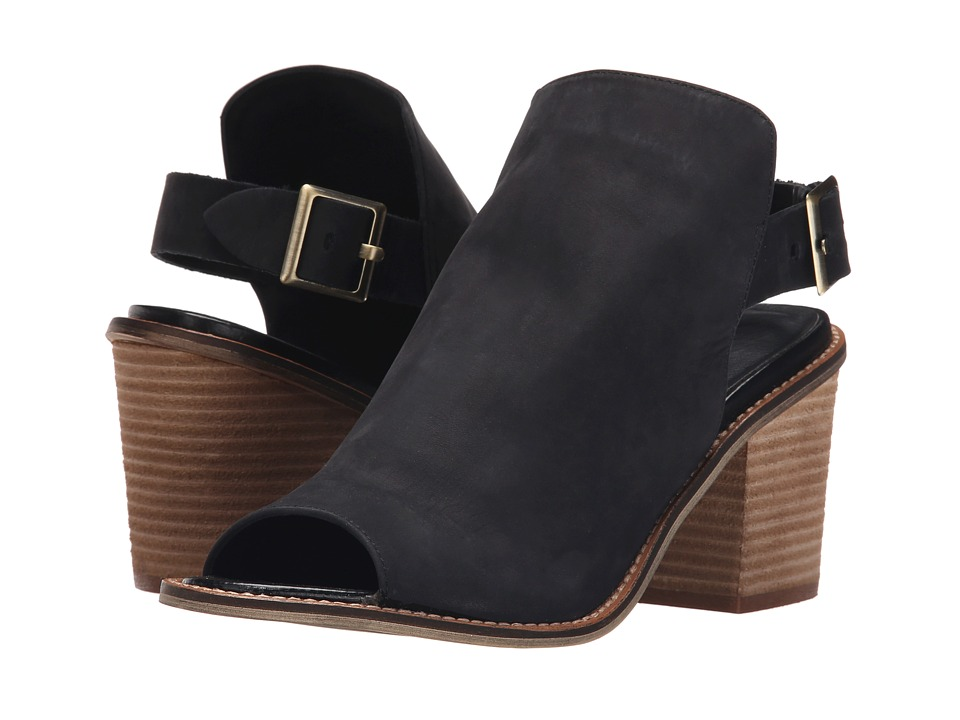 Chinese Laundry - Caleb (Black Leather) High Heels