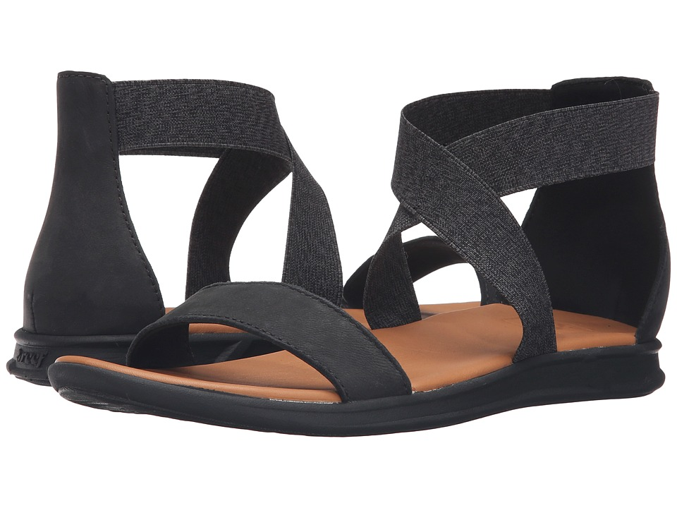 Reef - Rover Hi LE (Black) Women's Sandals
