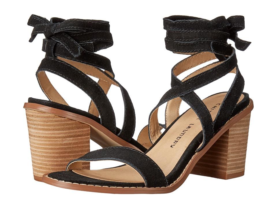 Chinese Laundry - Calvary (Black Split Suede) High Heels