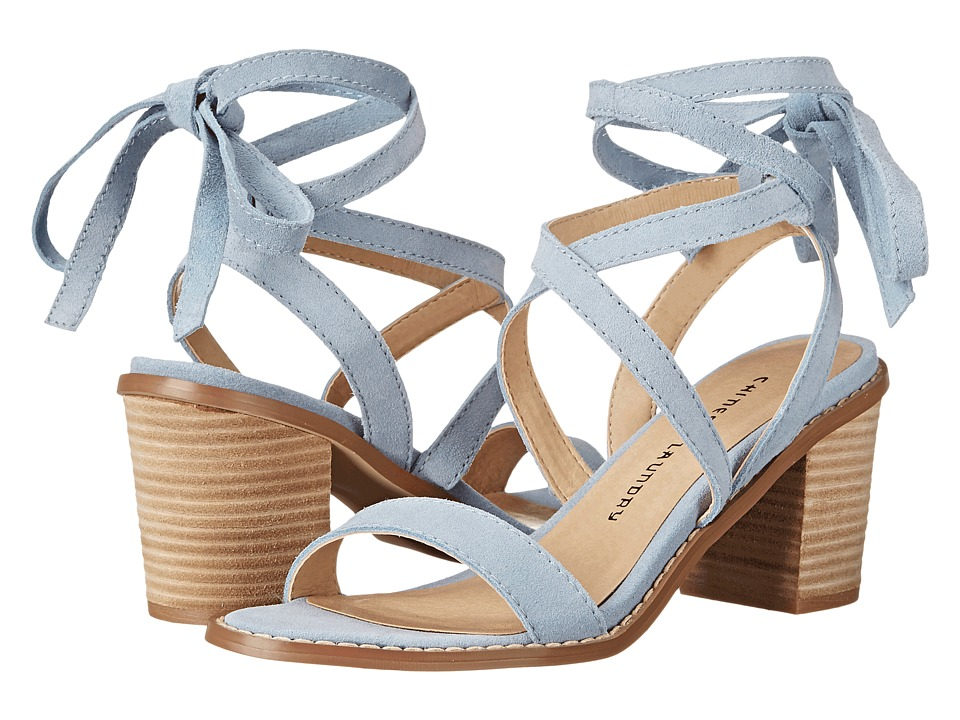 Chinese Laundry - Calvary (Powder Blue Split Suede) High Heels