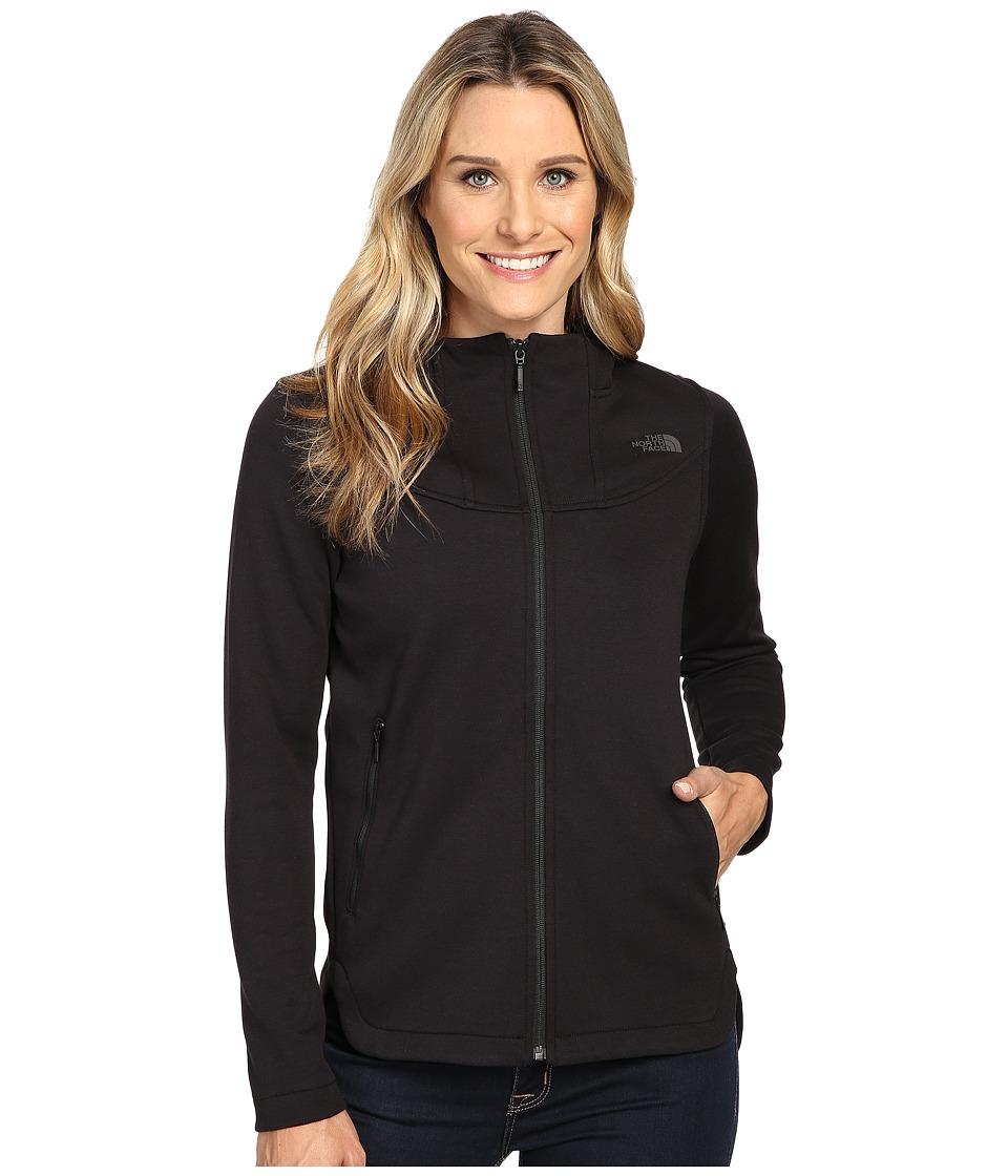 The North Face Slacker High Collar Full Zip (TNF Black) Women
