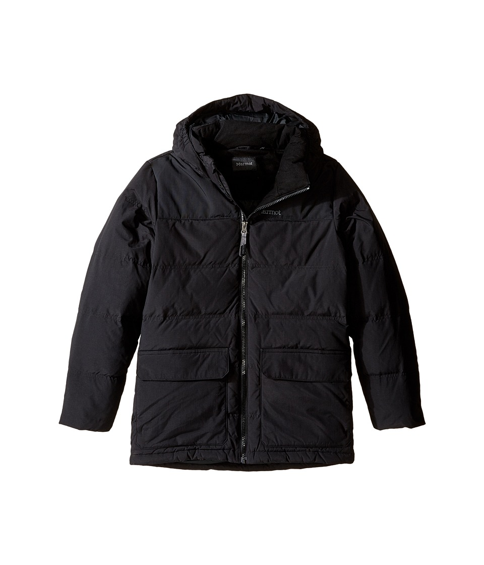 Marmot Kids - Rail Jacket (Little Kids/Big Kids) (Black) Boy's Coat