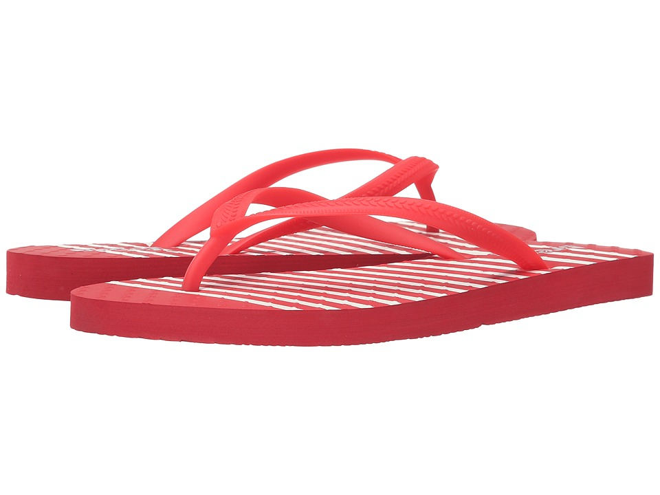 Reef - Chakras Prints (Red Stripe) Women's Sandals