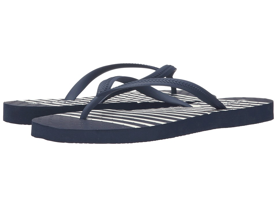 Reef - Chakras Prints (Navy/Stripe) Women's Sandals