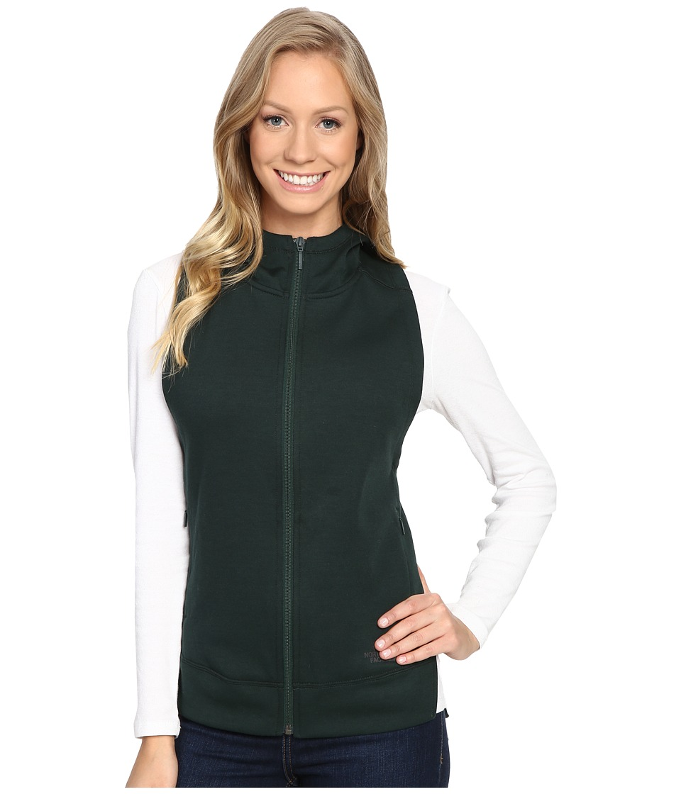 The North Face - Slacker Vest (Scarab Green Dark Heather) Women's Vest