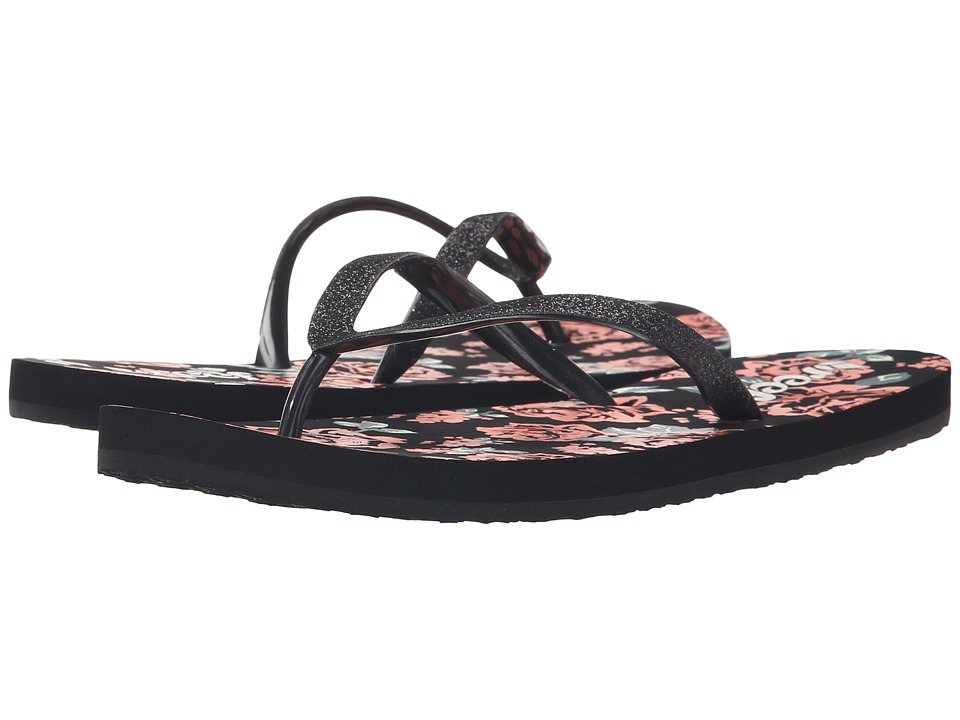 Reef - Stargazer Prints (Black Rose) Women's Sandals