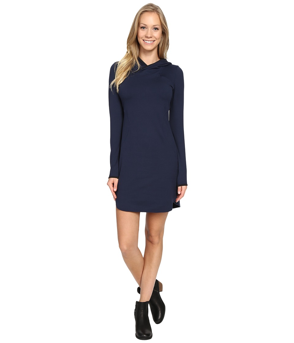 The North Face - Empower Hooded Dress (Cosmic Blue) Women's Dress