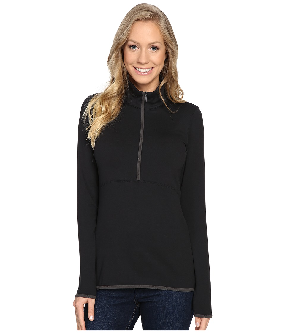 The North Face - Empower Half Zip Top (TNF Black) Women's Long Sleeve Pullover