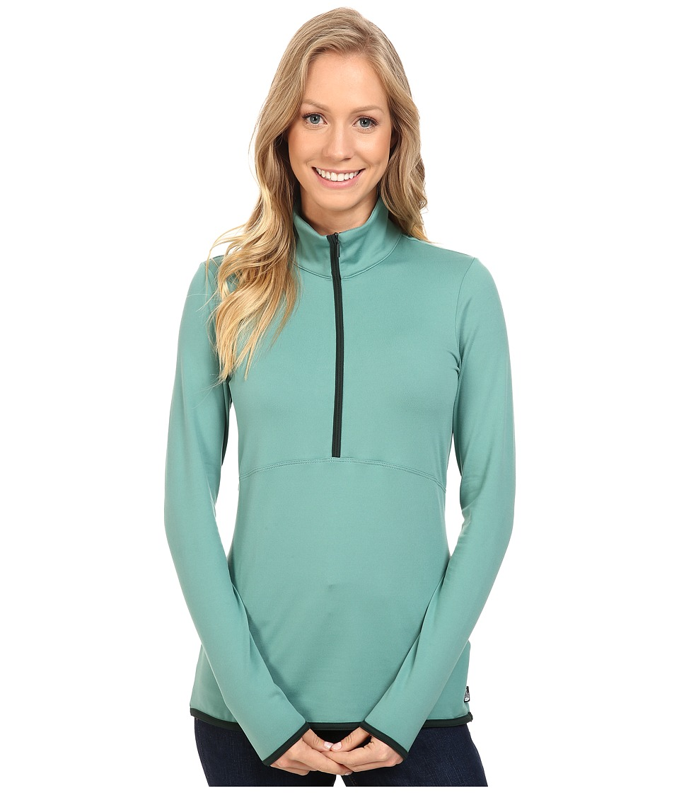 The North Face - Empower Half Zip Top (Deep Sea) Women's Long Sleeve Pullover