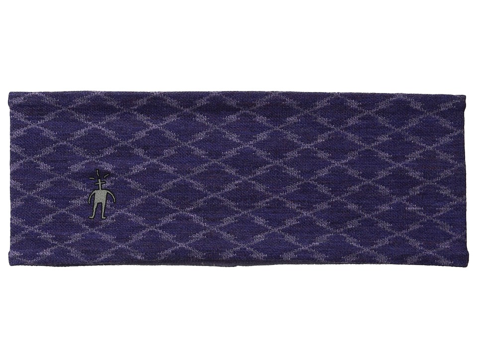 Smartwool - NTS 250 Reversible Pattern Headband (Mountain Purple Heather) Cold Weather Hats