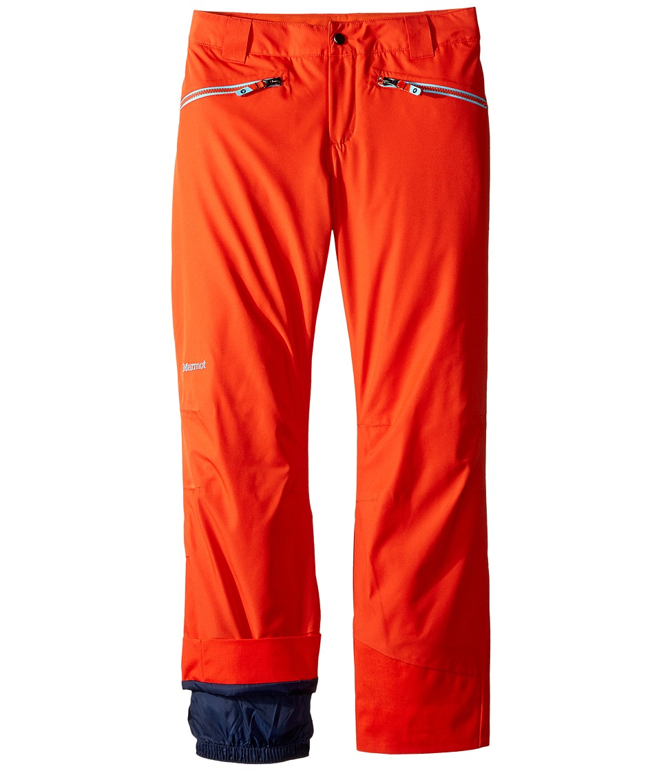 Marmot Kids - Vertical Pants (Little Kids/Big Kids) (Mars Orange) Boy's Casual Pants
