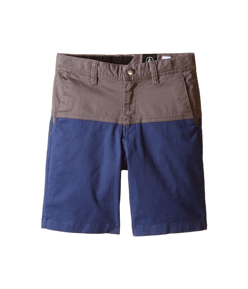 Volcom Kids - Baden Shorts (Toddler/Little Kids) (Pewter) Boy's Shorts