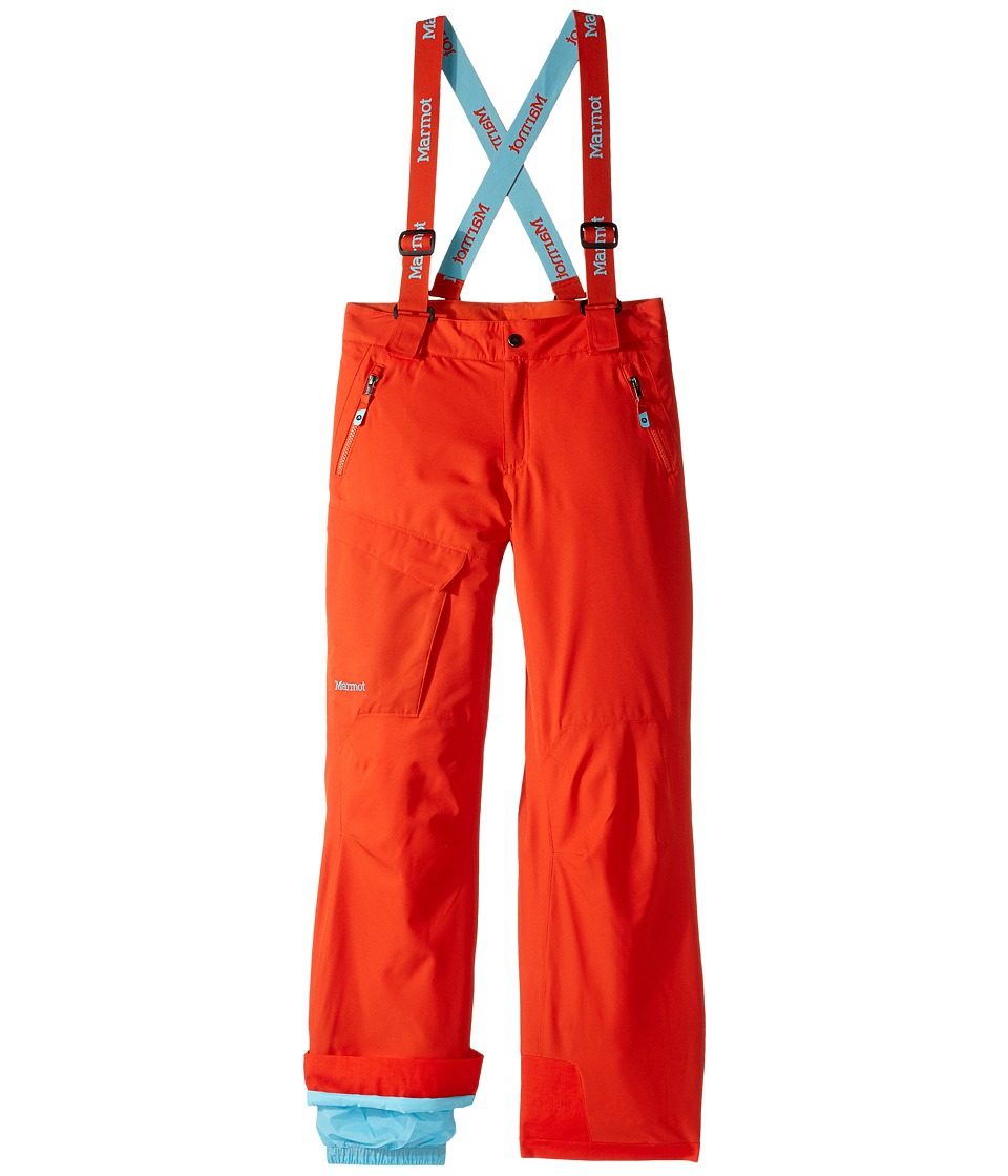Marmot Kids - Boys' Edge Insulated Pant (Little Kids/Big Kids) (Mars Orange) Boy's Outerwear