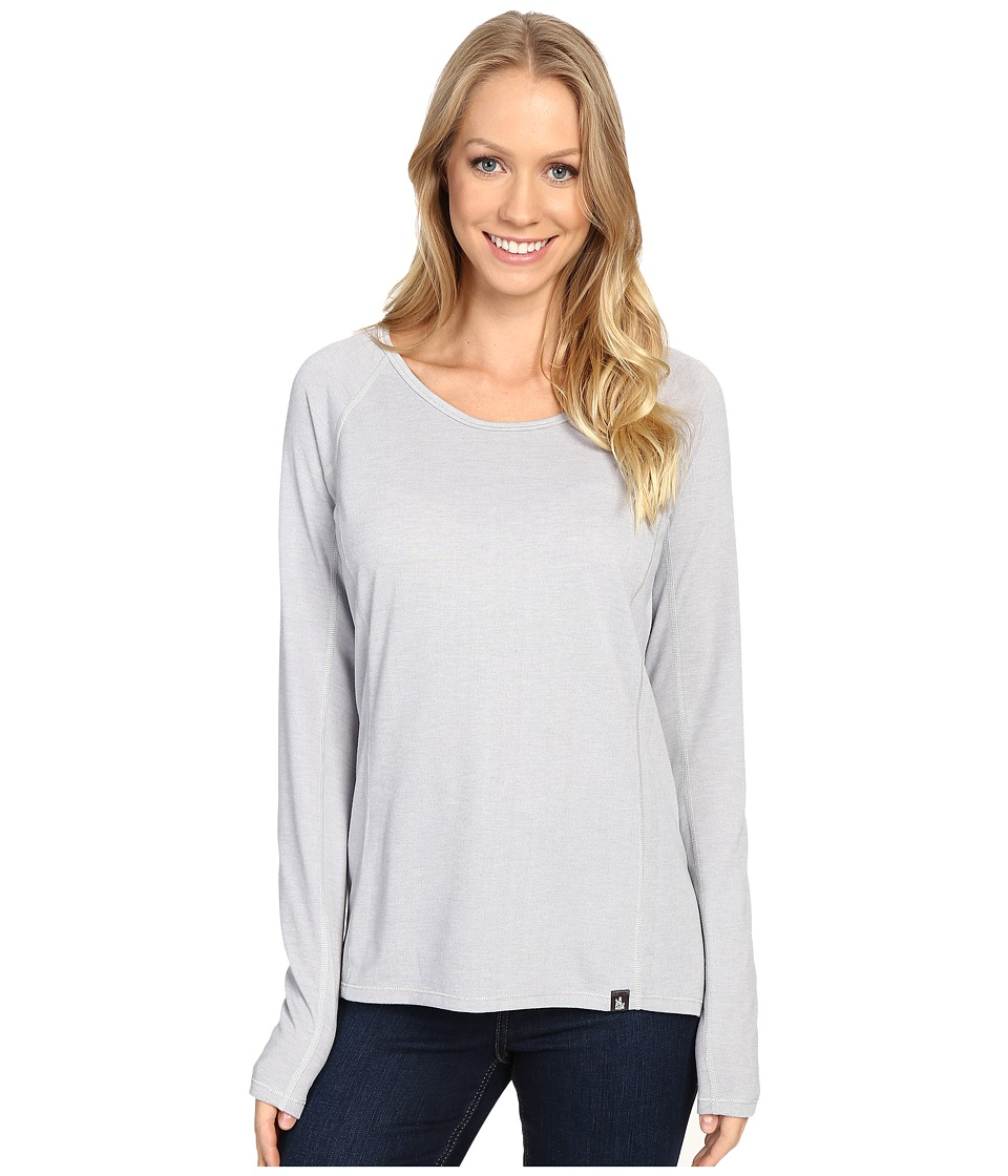 The North Face - Long Sleeve FlashDry Top (TNF Light Grey Heather) Women's Long Sleeve Pullover