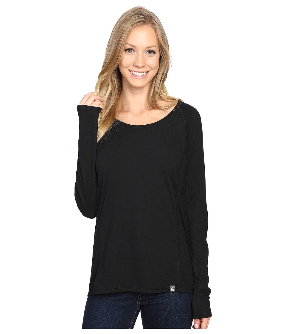 The North Face - Long Sleeve FlashDry Top (TNF Black) Women's Long Sleeve Pullover