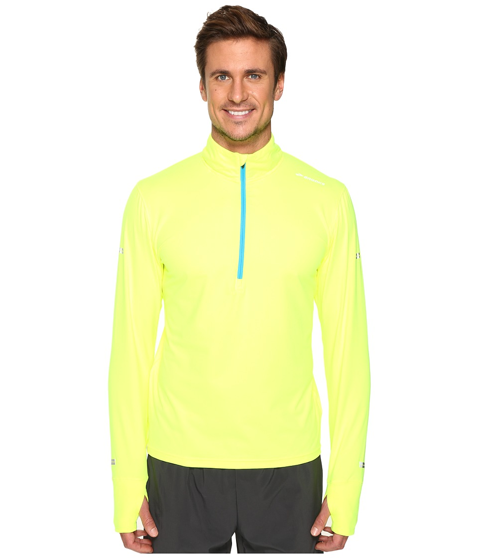 Brooks - Dash 1/2 Zip (Nightlife/Ultra Blue) Men's Long Sleeve Pullover