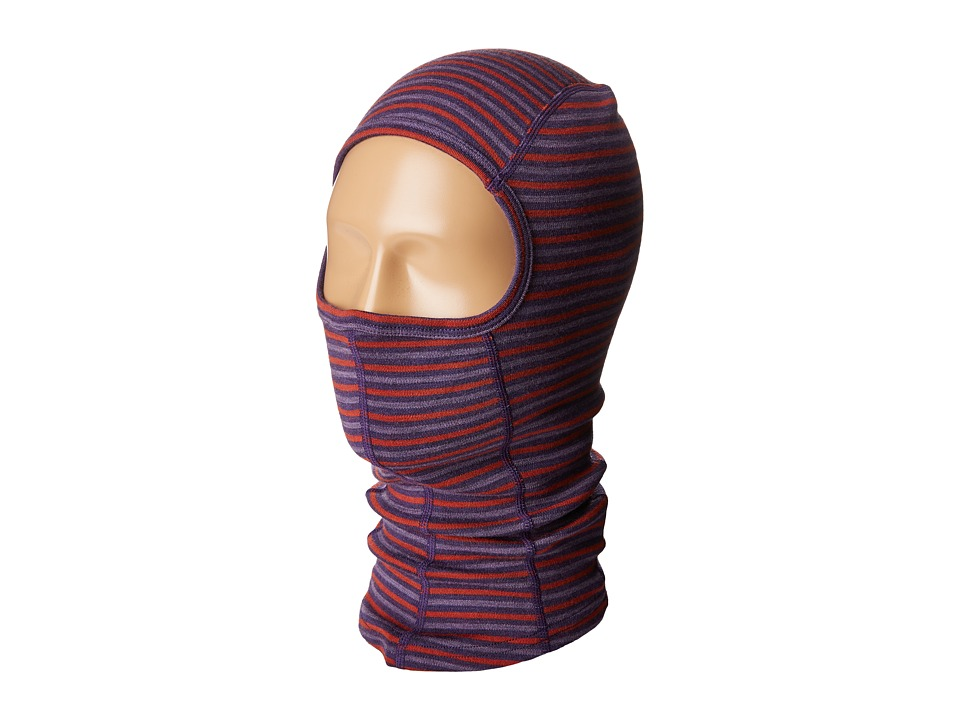 Smartwool - NTS Mid 250 Pattern Balaclava (Mountain Purple) Cold Weather Hats