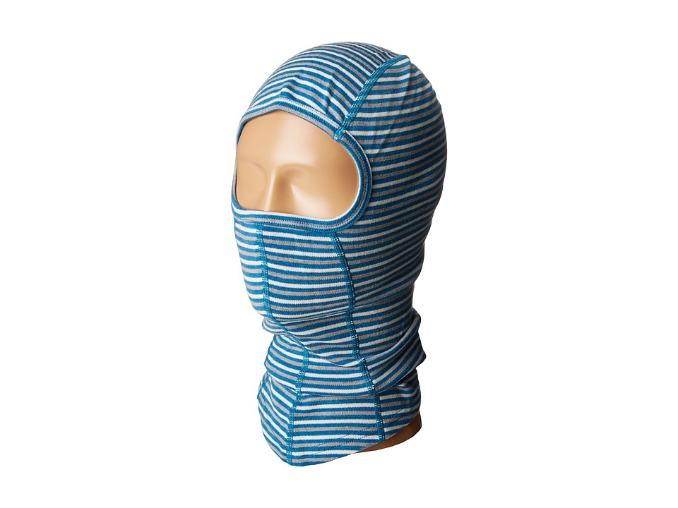 Smartwool - NTS Mid 250 Pattern Balaclava (Glacial Blue Heather) Cold Weather Hats