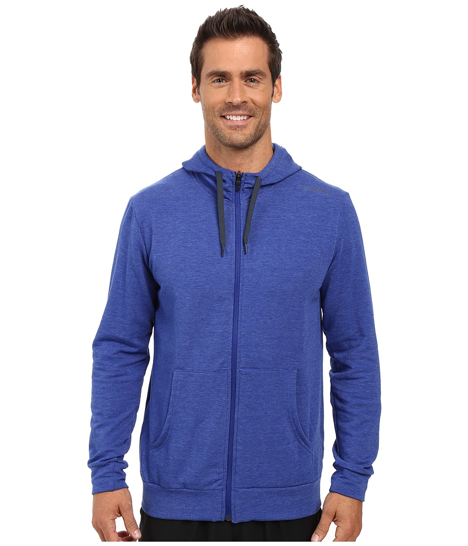 Brooks - Distance Hoodie (Heather Basin) Men's Sweatshirt
